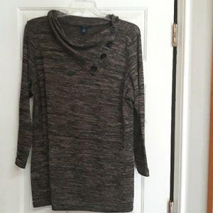 Westbound sweater tunic 2x